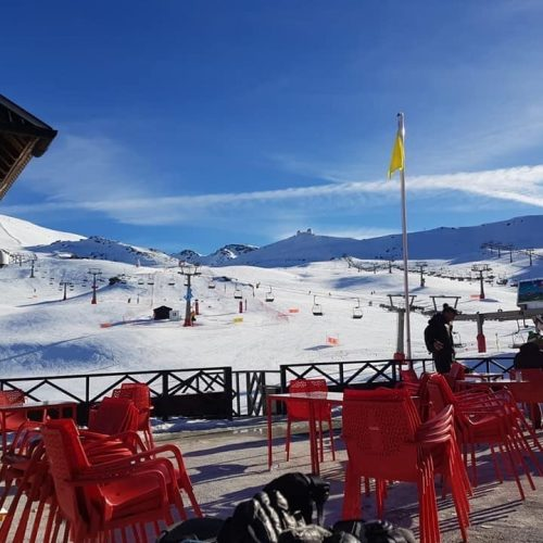 Sierra-Nevada-Skiing